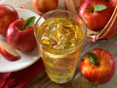 Daily Health Tips: Benefits of Apple Juice & Sparkling Water