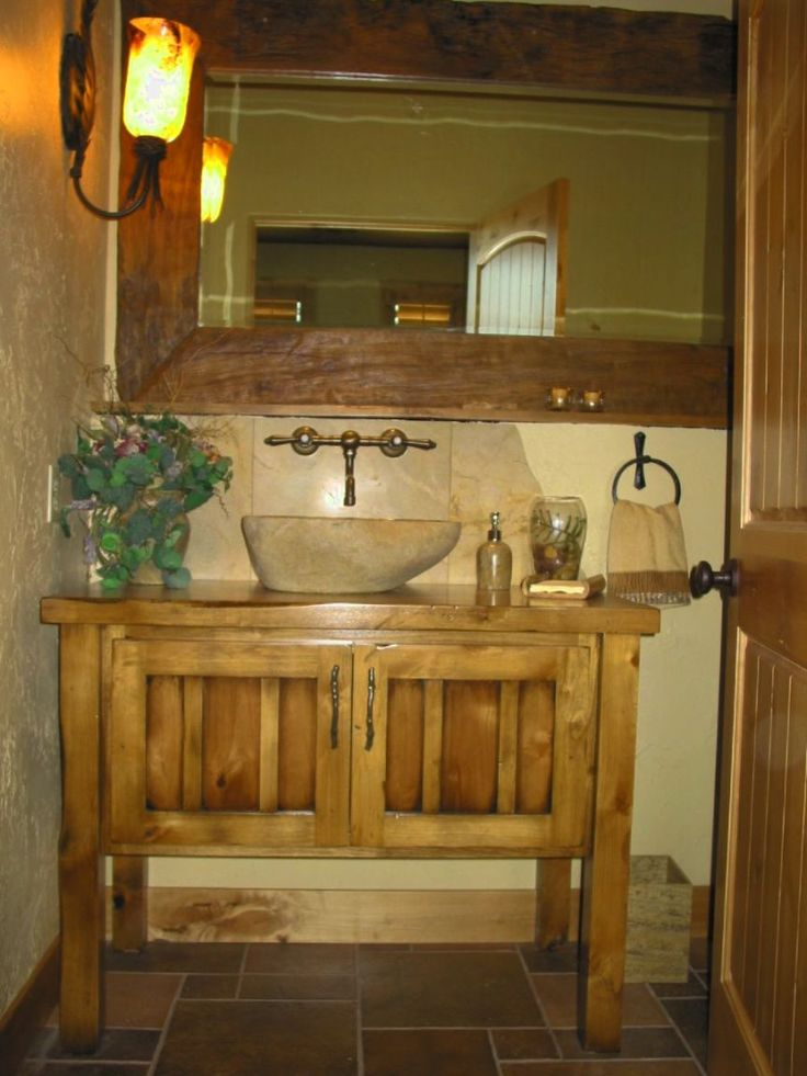 Rustic Bathroom Vanity Lights Interesting Design Decoration