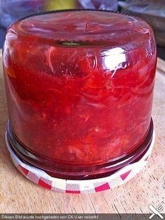 Erdbeer - Vanille Marmelade ohne Gelierzucker