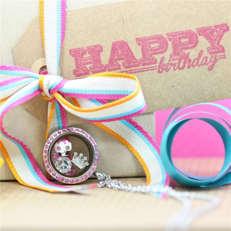 Birthday Locket - One of our Awesome new Pre-designed lockets - South Hill Designs Locket