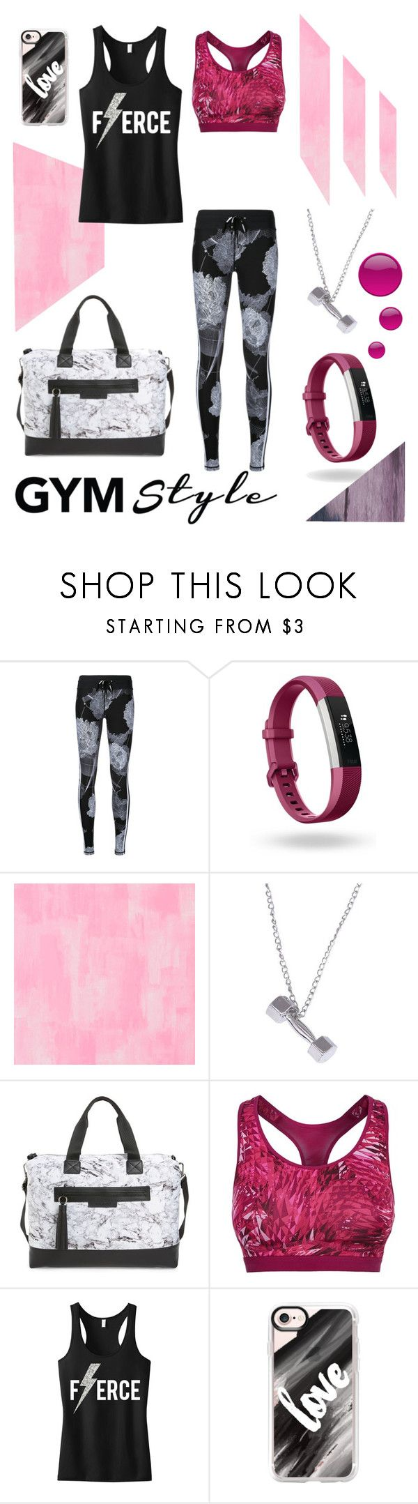 """Gym bae"" by belen-cool-look on Polyvore featuring moda, The Upside, Fitbit, Designers Guild, Balsa 201, NIKE y Casetify"