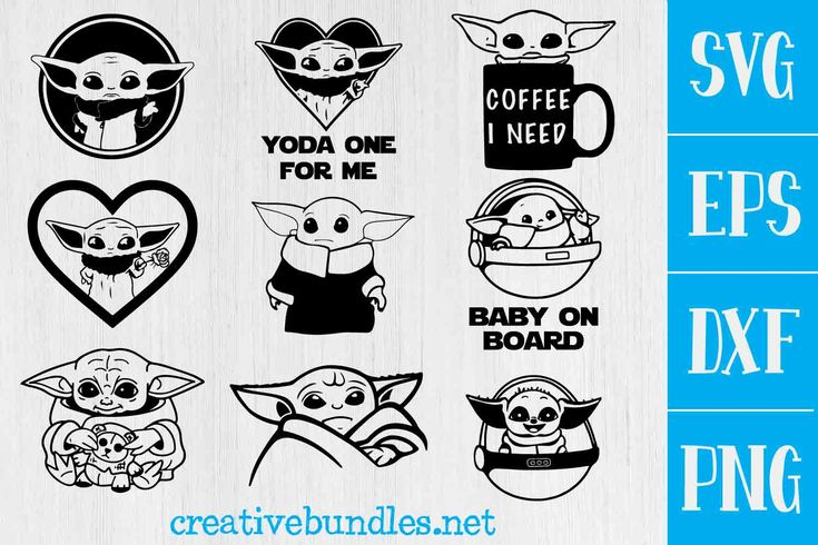 Download Baby yoda Svg Bundle - baby yoda png, baby yoda svg, in ...