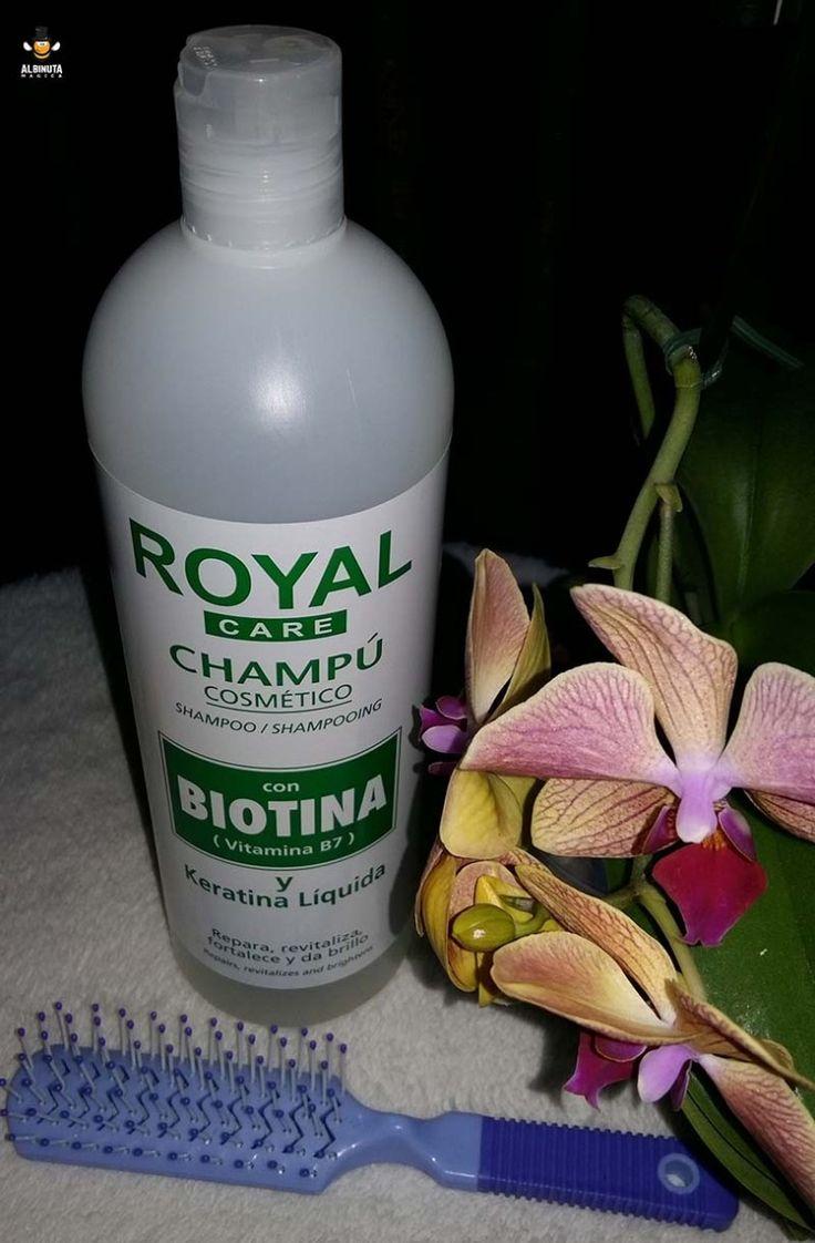 Review: Şampon Royal Care cu Biotină şi Keratină Lichidă – şamponul care previne căderea şi încărunţirea părului