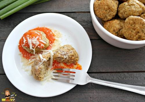 Easy Restaurant Style Italian Chicken Meatballs. Just like the Olive Garden chicken meatball, only better! Easy to make and will not take forever in the