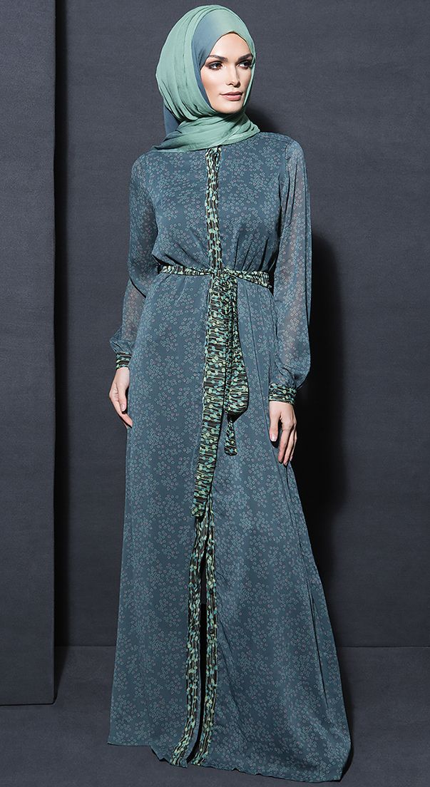 Serene Green Maxi Dress
