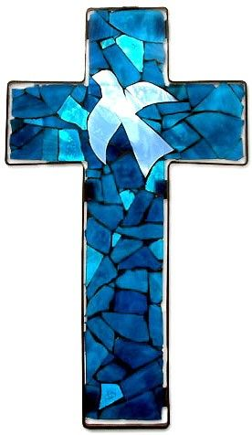 Glass crosses | Creative And Faithful: The Power of the Cross