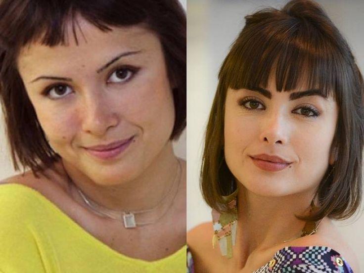 Nem Maria Casadevall escapou! Veja como a sobrancelha pode mudar o rosto das famosas - Fotos - R7 Moda e Beleza