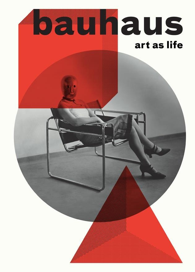Nominations for The Designs of the Year, BAUHAUS: ART AS LIFE EXHIBITION – Design: A Practice For Everyday Life / Nominee for The Designs of the Year Award (Graphics) Photo: Luke Hayes/ Image source: Design Museum.