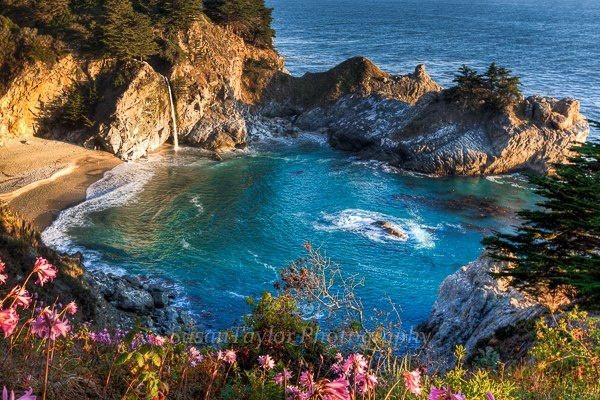big sur  ca mcway falls and cove fans call it the  u0026quot garden of eden u0026quot  on earth photo by suzi roks