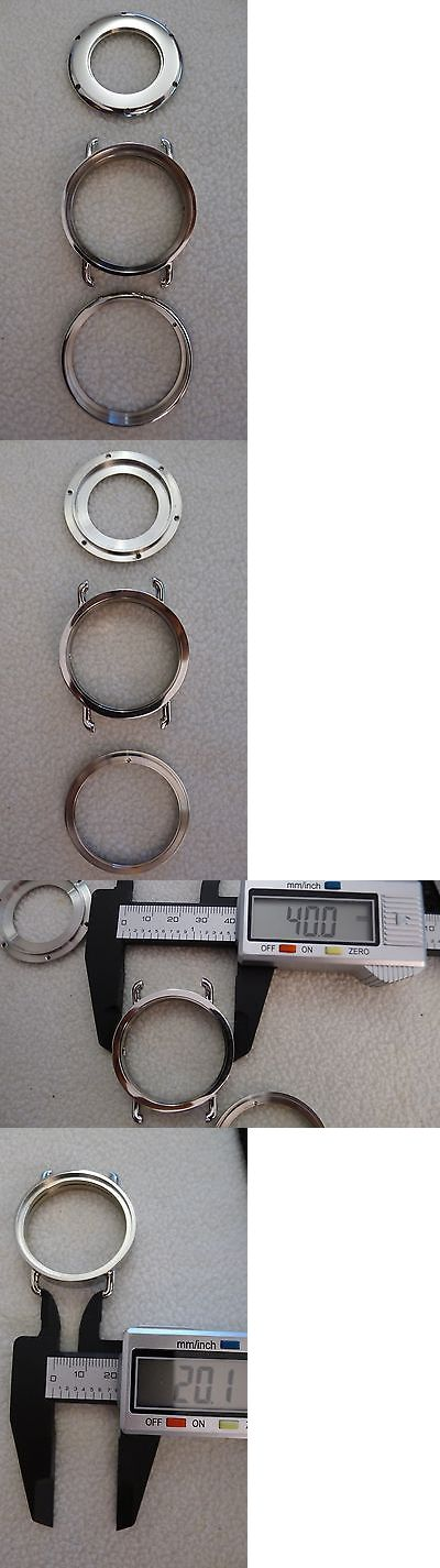 Other Watch Parts 10324: ? 40Mm Custom 316L Stainless Steel Watch Case For Miyota 8215 8217 -> BUY IT NOW ONLY: $44.98 on eBay!
