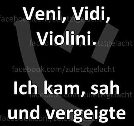 #veni, vidi, violini