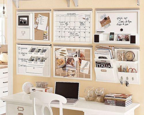 un bureau propre rangée et organisé!!