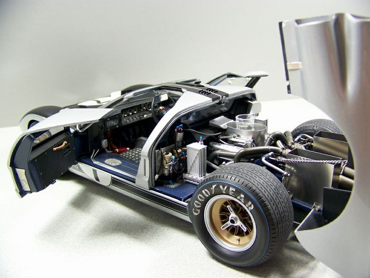 Trumpeter 1 12 Scale Gt40 Plastic Model Cars Pinterest