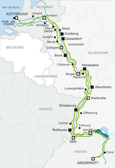 En avant les Vacances à vélo - L'EuroVelo 15 : De la source du Rhin à son embouchure, dans la Mer du Nord — EuroVelo