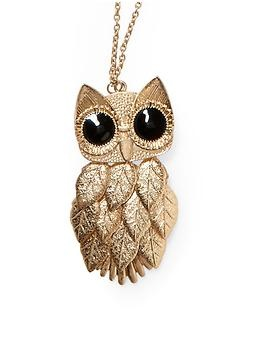 In my family i am beautiful peacock and my grandmother is wisdom owl i have a necklace like this as a peacock i want this for her