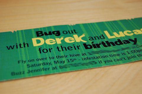 bug partyBugs Birthday Parties, Bugs Parties, Birthday Bugs, Bday Ideas, Parties Ideas, Bday Parties, Bugs Insects Parties, Birthday Parties Invitations, Birthday Ideas