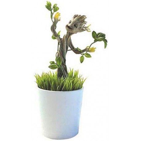 Figurine Végétalisée et Phosphorescente Groot