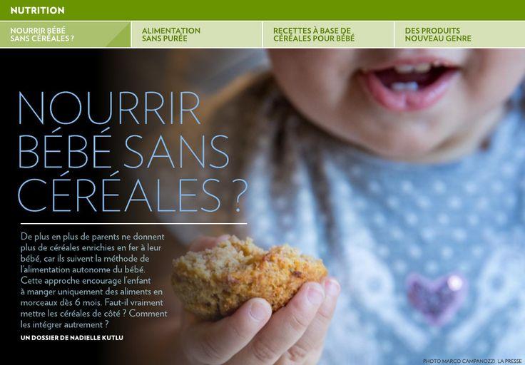 De plus en plus de parents ne donnent plus de céréales enrichies en fer à leur bébé, car ils suivent la méthode de l'alimentation autonome du bébé. Cette approche encourage l'enfant à manger uniquement des aliments en&hel