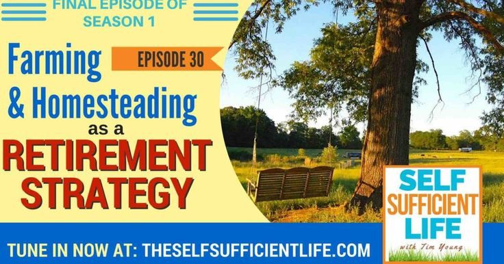 When people think of retirement, they often think of golf or travel. But what about homesteading or farming as a retirement strategy?In this final episode of season 1, I'll share with you how we and many other farmsteaders are thinking very old-school about retirement. Listen to thePodcast Subscribe to Self-Sufficient Life oniTunes,Stitcher Radio,Google Playor TuneIn […]