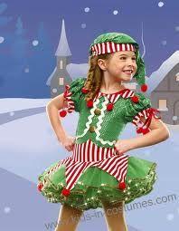 Christmas dance Elf costume