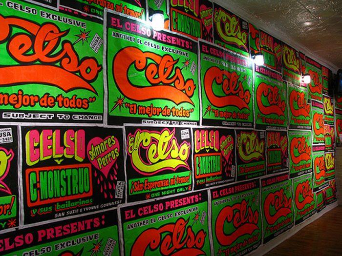 Chicha poster art from Peru