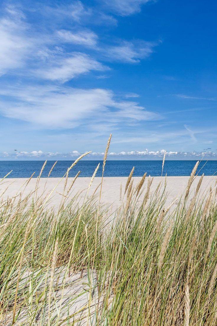 Dünen am Strand von List auf Sylt – Nordsee