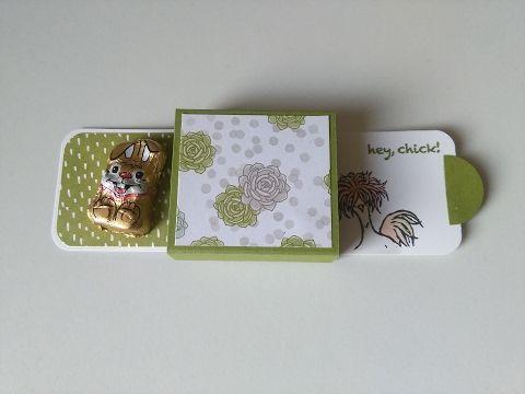 Ziehkarte/Verpackung mit Produkten von Stampin up – Tüüddeldings