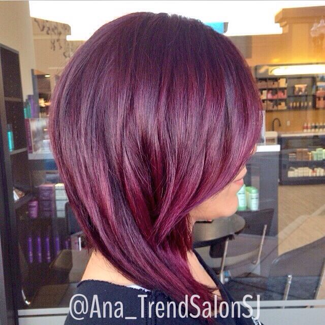 Red Violet Hair Wellahaircolor  Hair By Me  Pinterest  My Hair Violet Ha