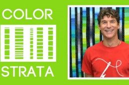 The Color Strata Quilt