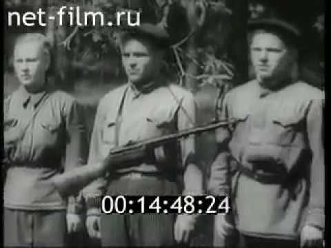 Народные мстители - 1943  Документальный фильм СССР