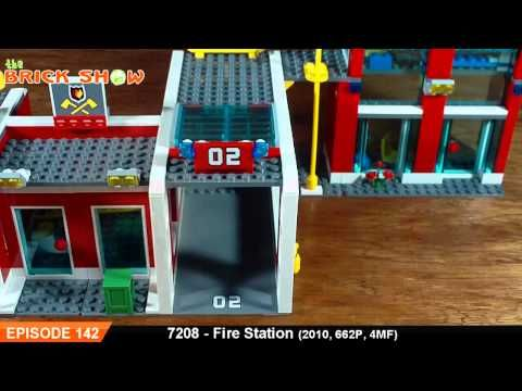 LEGO City Fire Station Review : LEGO 7208 - YouTube