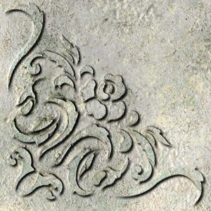 Venetian Corner Raised Stencil