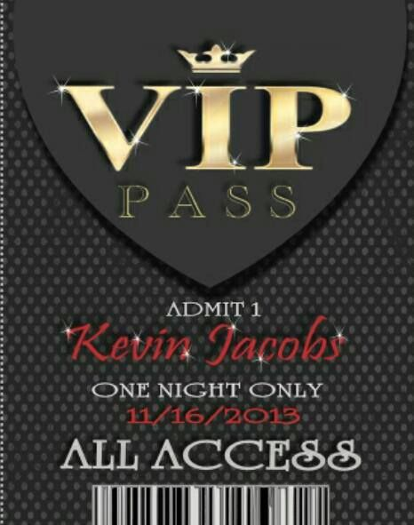 15 best VIP Passes images on Pinterest | Vip pass, Invitations and ...