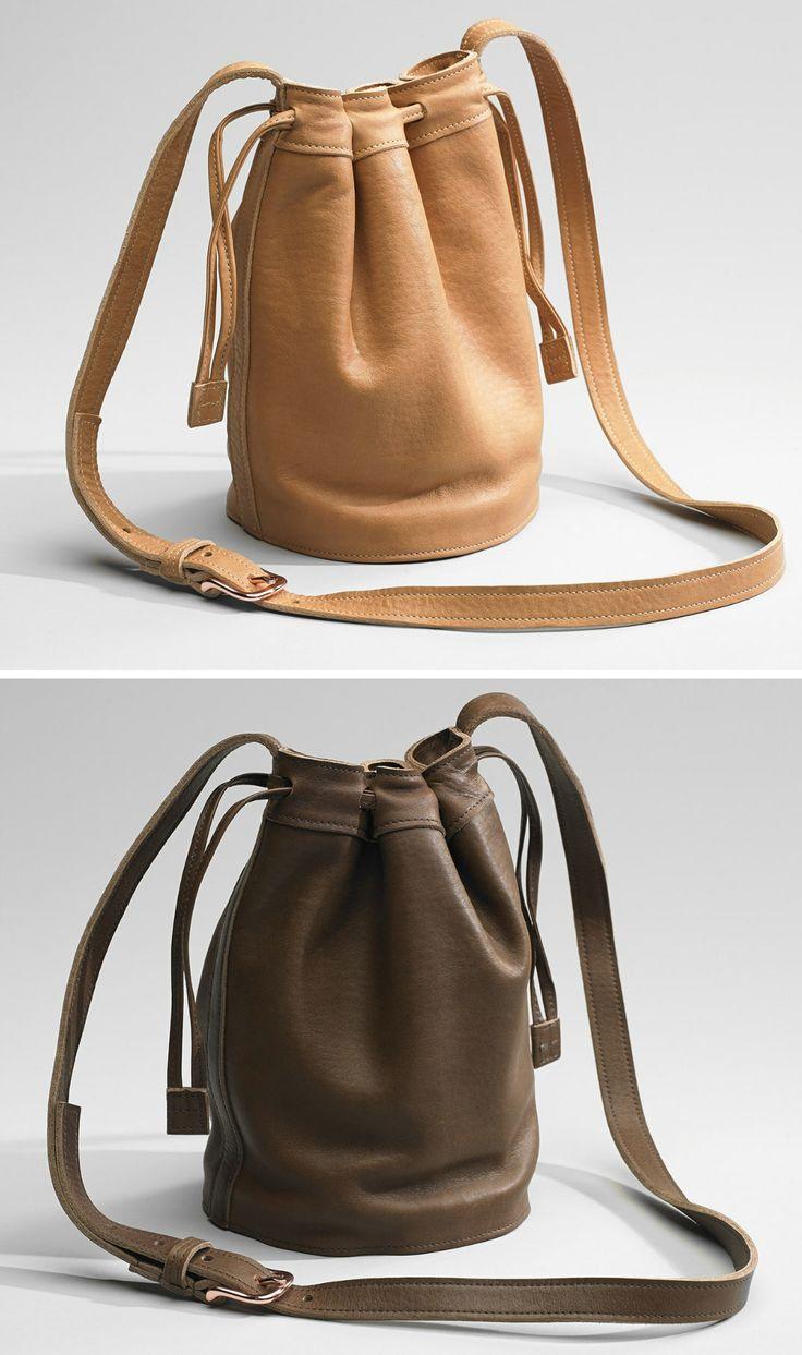 Cute, Drawstring Leather Purses