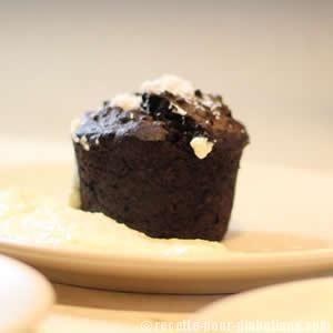 Gâteaux au chocolat sans sucre, sans gluten et sans lactose