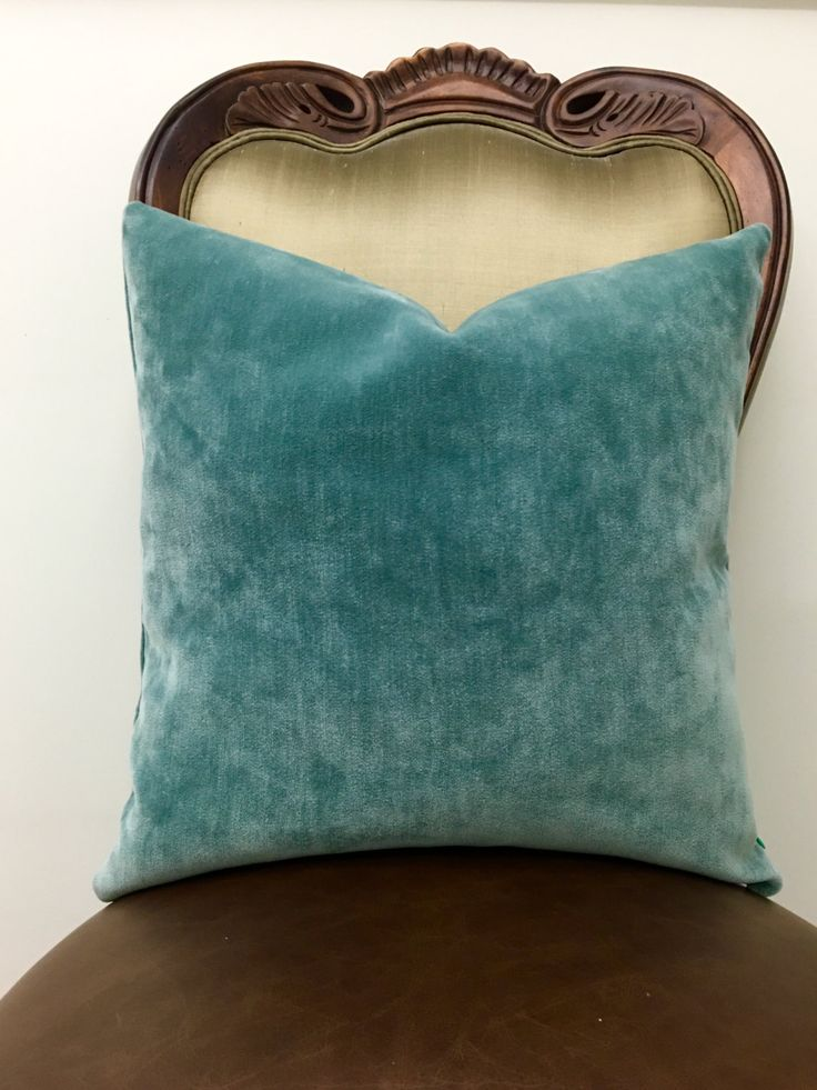 turquoise throw pillow cover turquoise pillow boho decorative pillows cushion chenille pillow