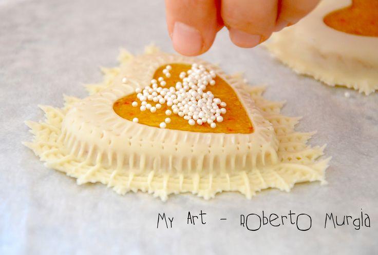 """Ecco uno dei dolci sardi che mi piace tantissimo e che purtroppo non ero riuscito ancora a preparare per mancanza degli """"attrezzini"""" ch..."""