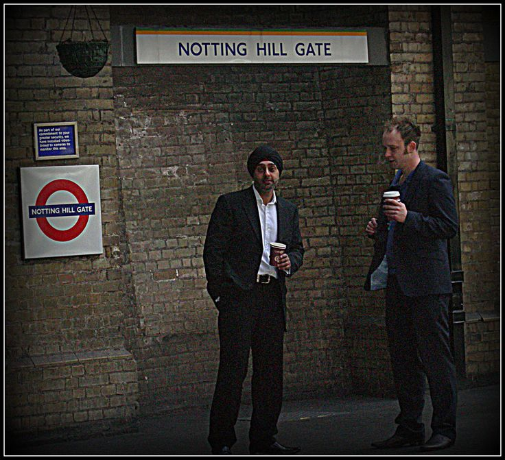 Notting Hill Gate. Underground Tube