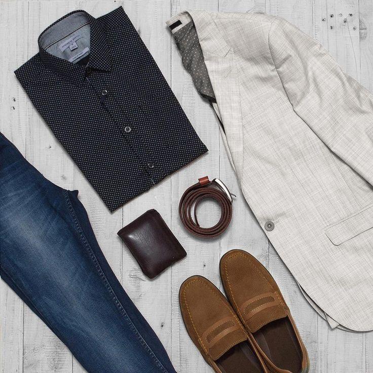 "51 Likes, 2 Comments - ANDREW SMITH (@andrewsmith_official) on Instagram: ""OOTD - Denim formal wear  #formal #denim #denimformalwear #suedeshoes #instafashion #menswear…"""