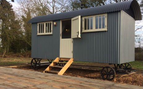 Ivy Grange Farm near Southwold, Suffolk Shepherds Hut