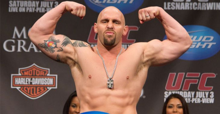 Shane Carwin comes out of retirement and signs with RIZIN Fighting Federation - The Stone Builders Rejected-We are the chief cornerstone.