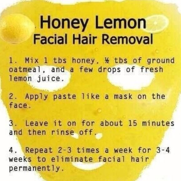 I was really skeptical about this but I looked it up & it apparently works & has lasting effects! DIY Hair Removal!