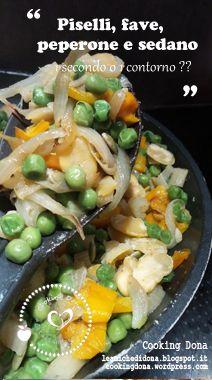 Ricetta vegana per cucinare le fave con i piselli, è un perfetto secondo o uno sfizioso secondo