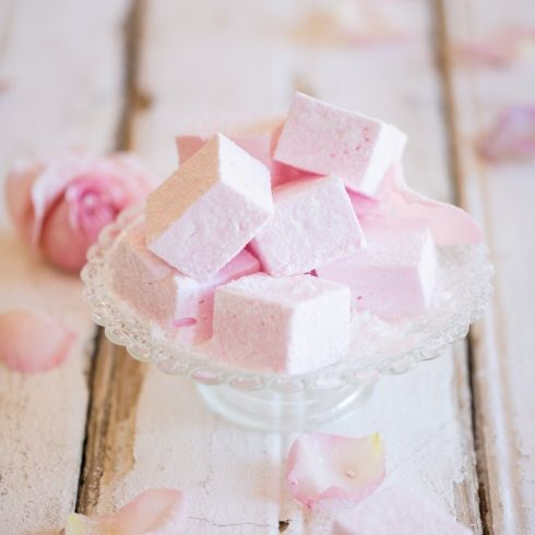 How to make Rosewater Marshmallows (simple sugar & gelatine method)