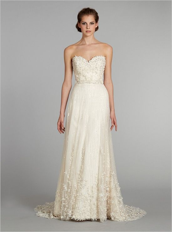 Lazaro Wedding Dress LZ326 New Year's Eve Wedding Inspiration