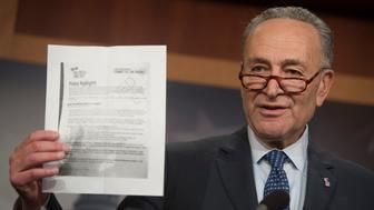 Chuck Schumer Warns Moderate Democrats Of The Perils Of Voting For GOP Tax Bill https://www.huffingtonpost.com/entry/chuck-schumer-gop-tax-bill_us_5a05f466e4b0e37d2f375649?utm_hp_ref=donald-trump