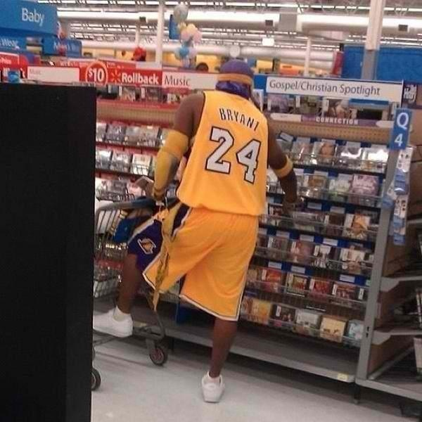 fake ass kobe in wal-mart Only At Walmart Pinterest - walmart careers