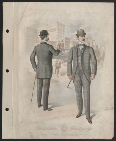 1900, Tafel 012 :: Costume Institute Fashion Platten