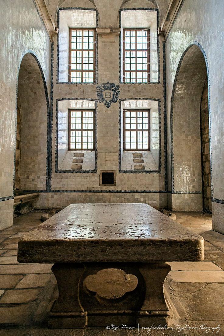 Cozinha do Mosteiro de Alcobaça- Portugal - kithen of Alcobaça Monastery
