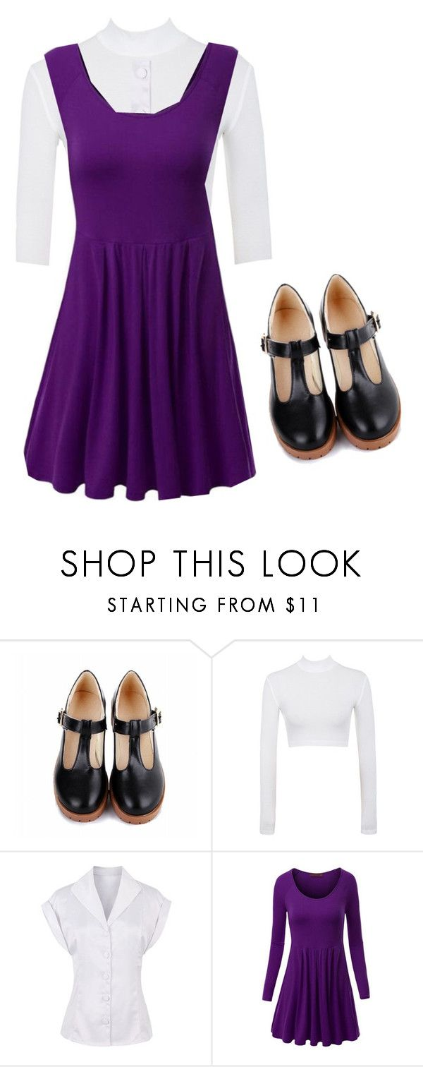 """""""220"""" by dorothygale-z ❤ liked on Polyvore featuring WithChic, school, television, kid, Arthur and muffy"""